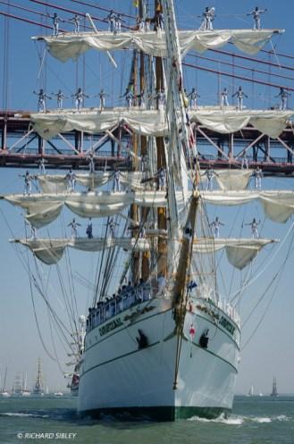 Mexican barque Cuauhtemoc
