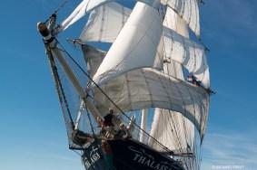 Dutch barquentine Thalassa