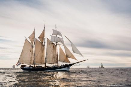 Dutch topsail schooner Oosterschelde