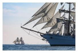 Cuauhtemoc, background vessel, Morgenster