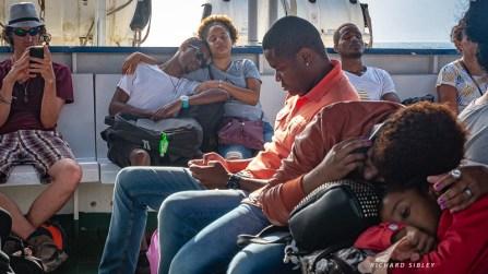Ferry journey, Santo Antao to Sao Vicente