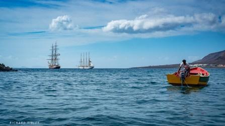 Not long ago all three were fishing boats, Tarrafal de Sao Nicolau