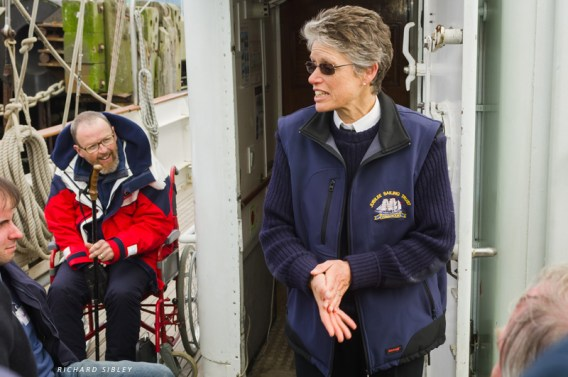 A thank you from Captain Barbara for participating in a great days sail