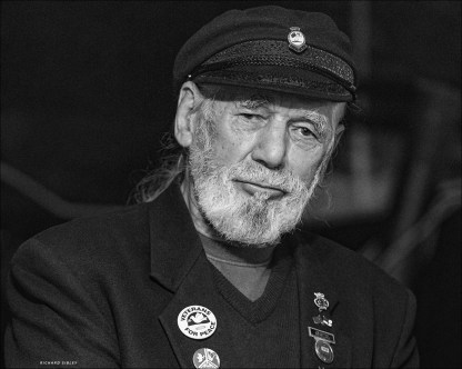 Jim was born on the 1st October 1928. He is the youngest known participant in the Allied invasion of Normandy, June 1944. He is also a British folk singer, songwriter, peace campaigner, political and community activist.