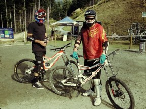 Ants and Mike at Skyline ready for some circuits