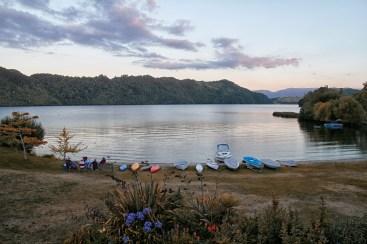 Lake Okareka sunset