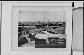 Osaka Ammunition Depot near Osaka Castle 1914 - Photo from the National Diet Library
