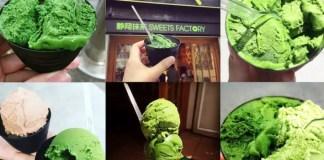 Nanaya's 7-Level Matcha Ice-Cream