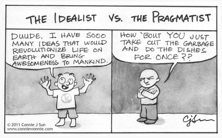 Idealism and Pragmatism  Derek  Jonathan  Philosophy 12