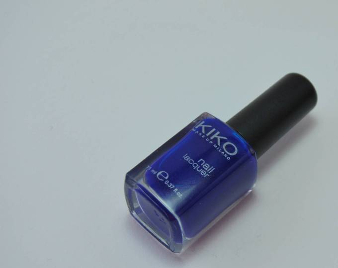 - Kiko polishes continue to impress me: great colours, affordable and really long lasting. What more do you need? Full review on the blog.