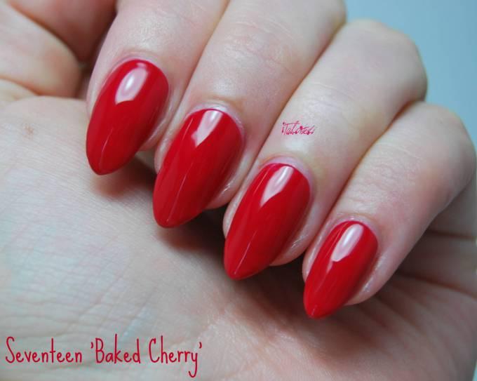 Seventeen Baked Cherry