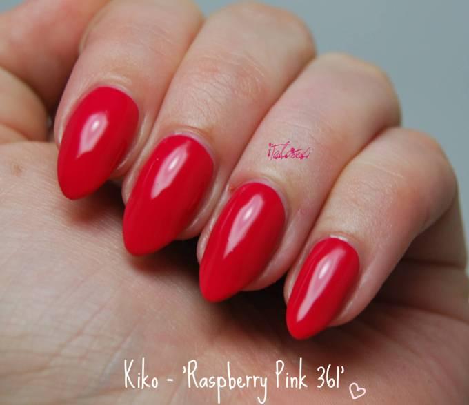 Kiko 361 Raspberry Pink