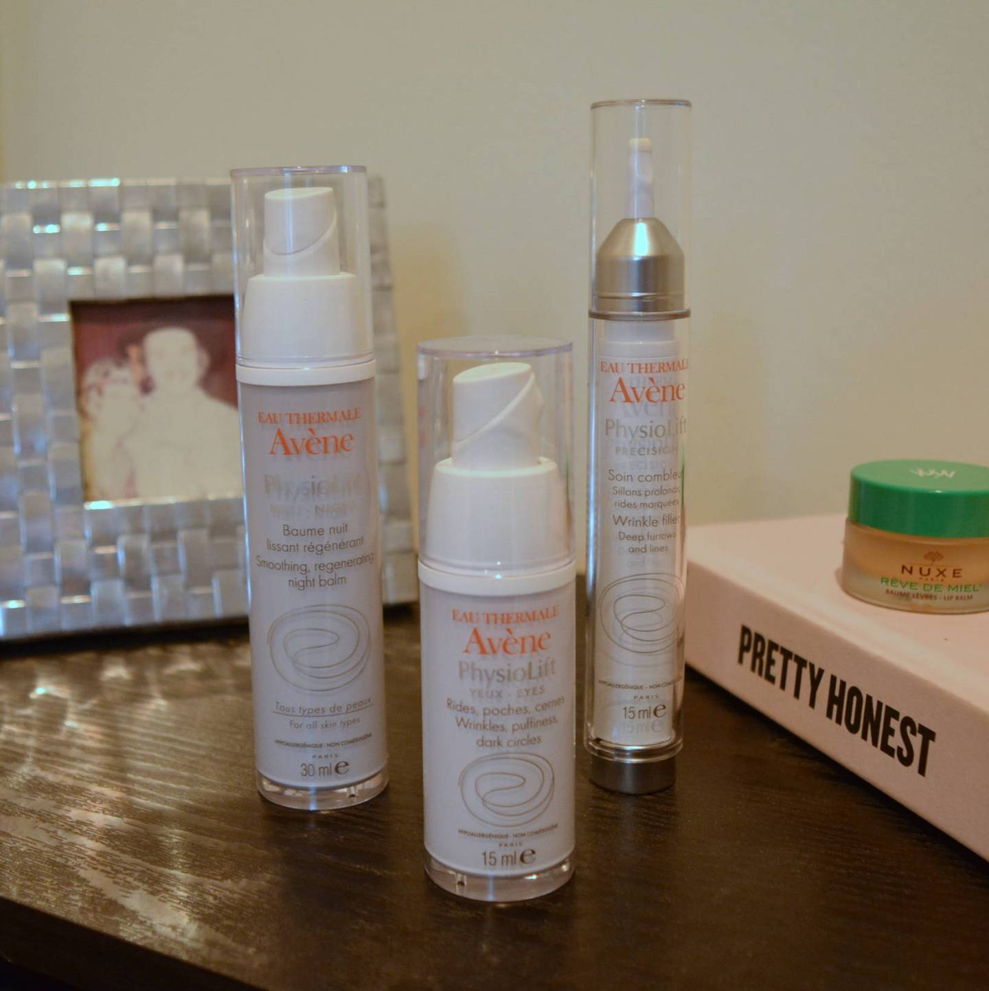 Avene PhysioLift Anti Ageing skincare for sensitive skin