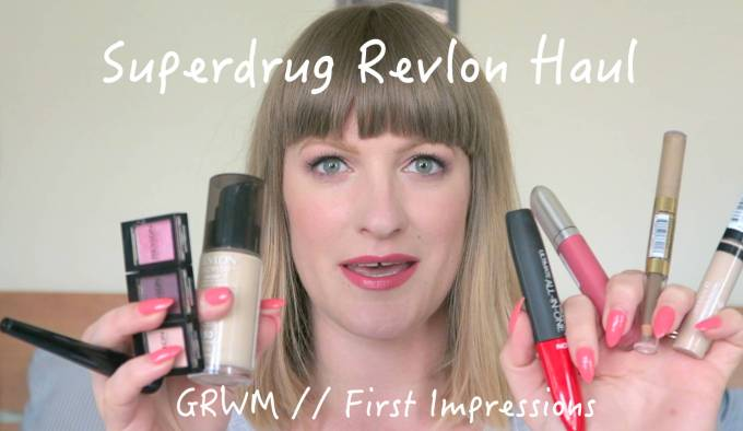 Superdrug Revlon Haul