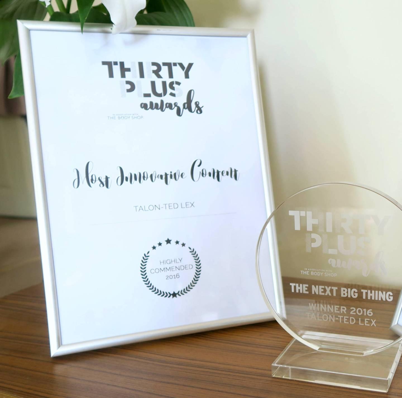 Thirty Plus Awards