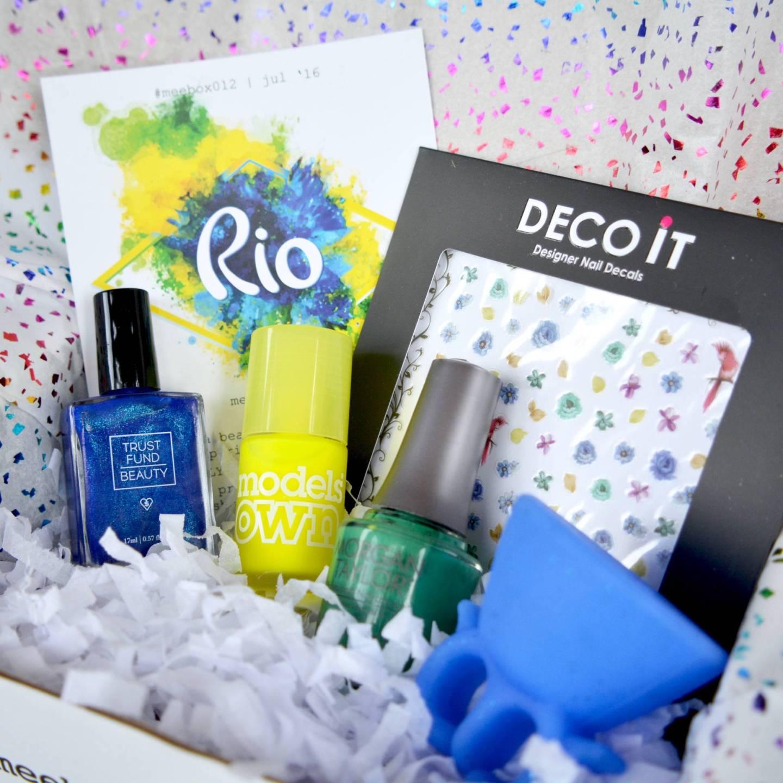 Meebox Nail Subscription Box Rio