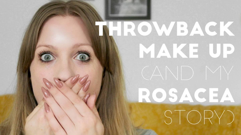 throwback make up video