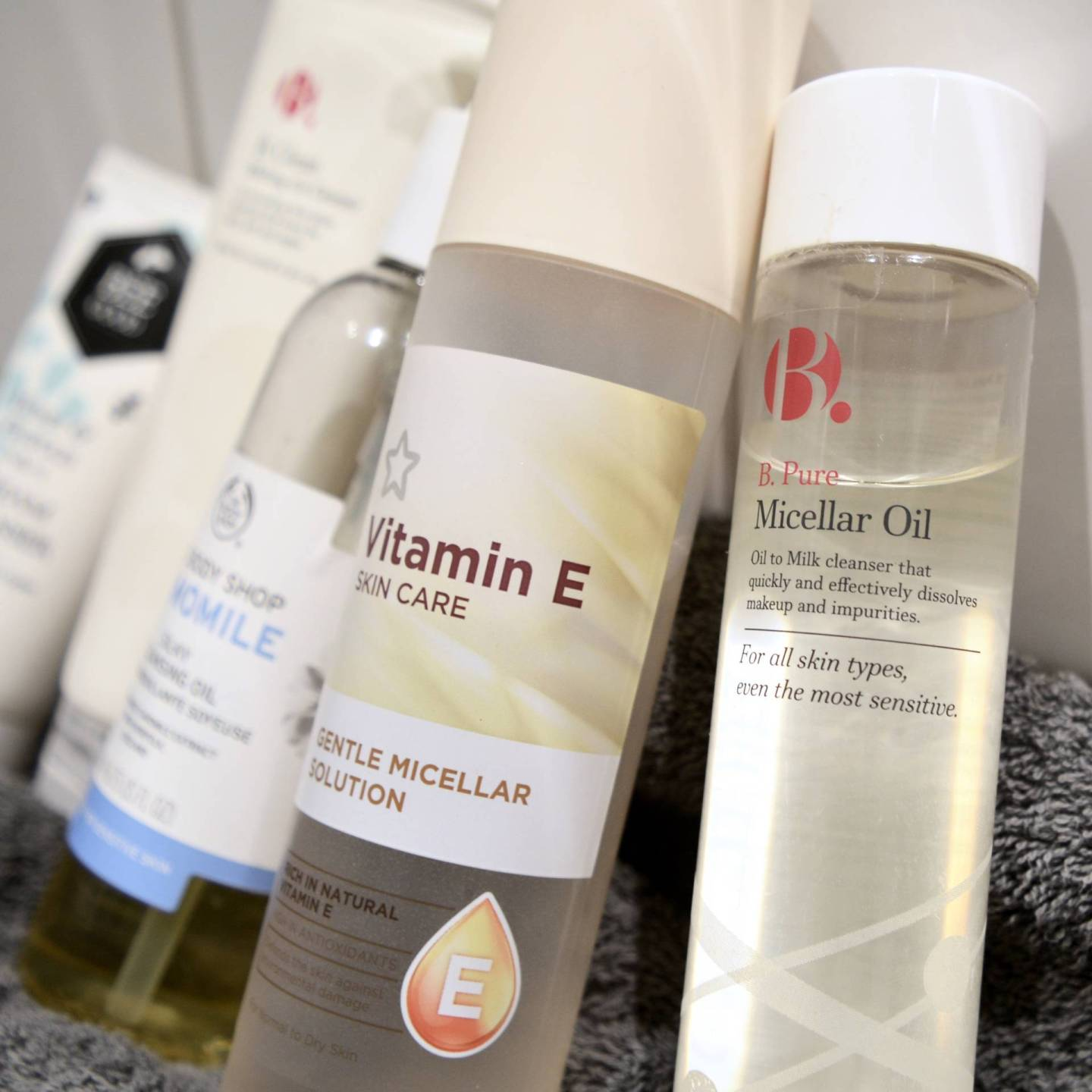 5 best budget cleansers for sensitive skin - B.Micellar Oil // Talonted Lex