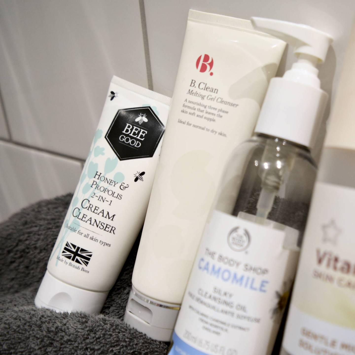5 best budget cleansers for sensitive skin - Bee Good Honey & Propolis 3-in-1 Cleanser // Talonted Lex