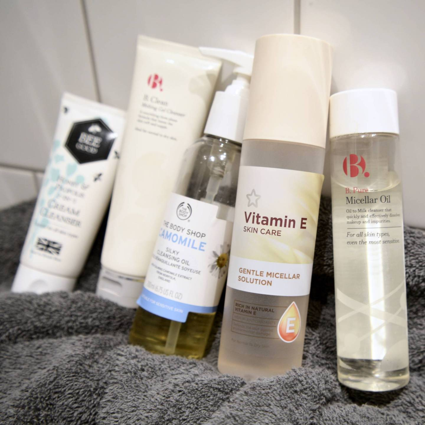 5 best budget cleansers for sensitive skin - Superdrug Vitamin E Micellar Water // Talonted Lex