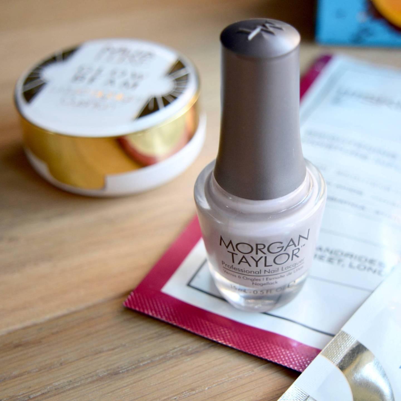 Morgan Taylor 'Rule The Runway' - the most beautiful grey-lilac nail polish. My new favourite nail varnish for Autumn.
