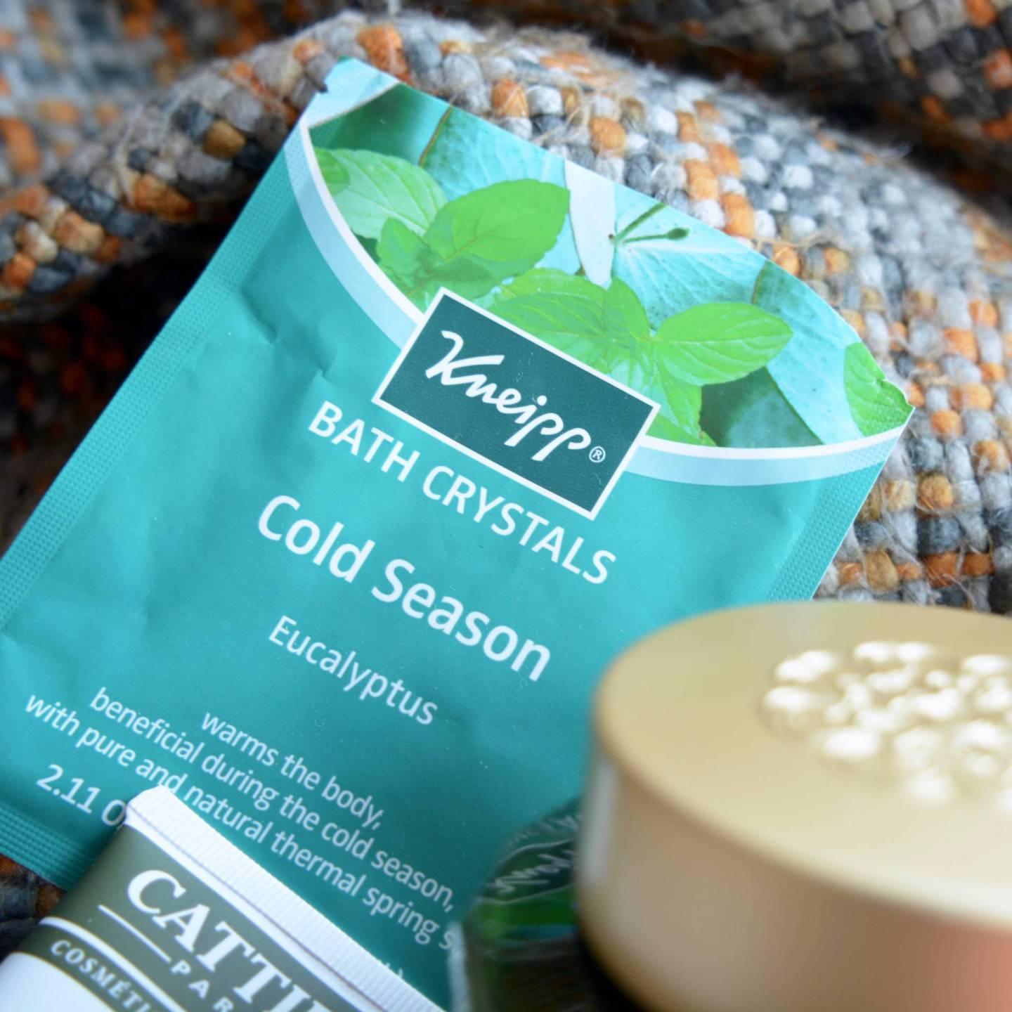 Winter Pamper - Kneipp Cold Season Eucalyptus Bath crystals. These are GENIUS.