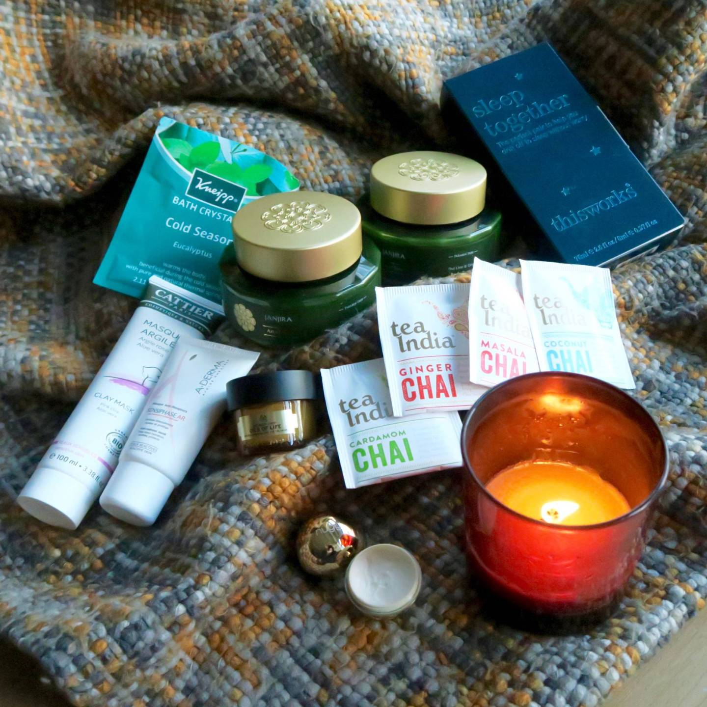 Winter Pamper - All of the products that help me to feel cosy, comfortable and relaxed when the weather gets colder.