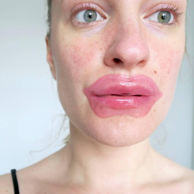 Next Generation Masks - A plumping lip mask...