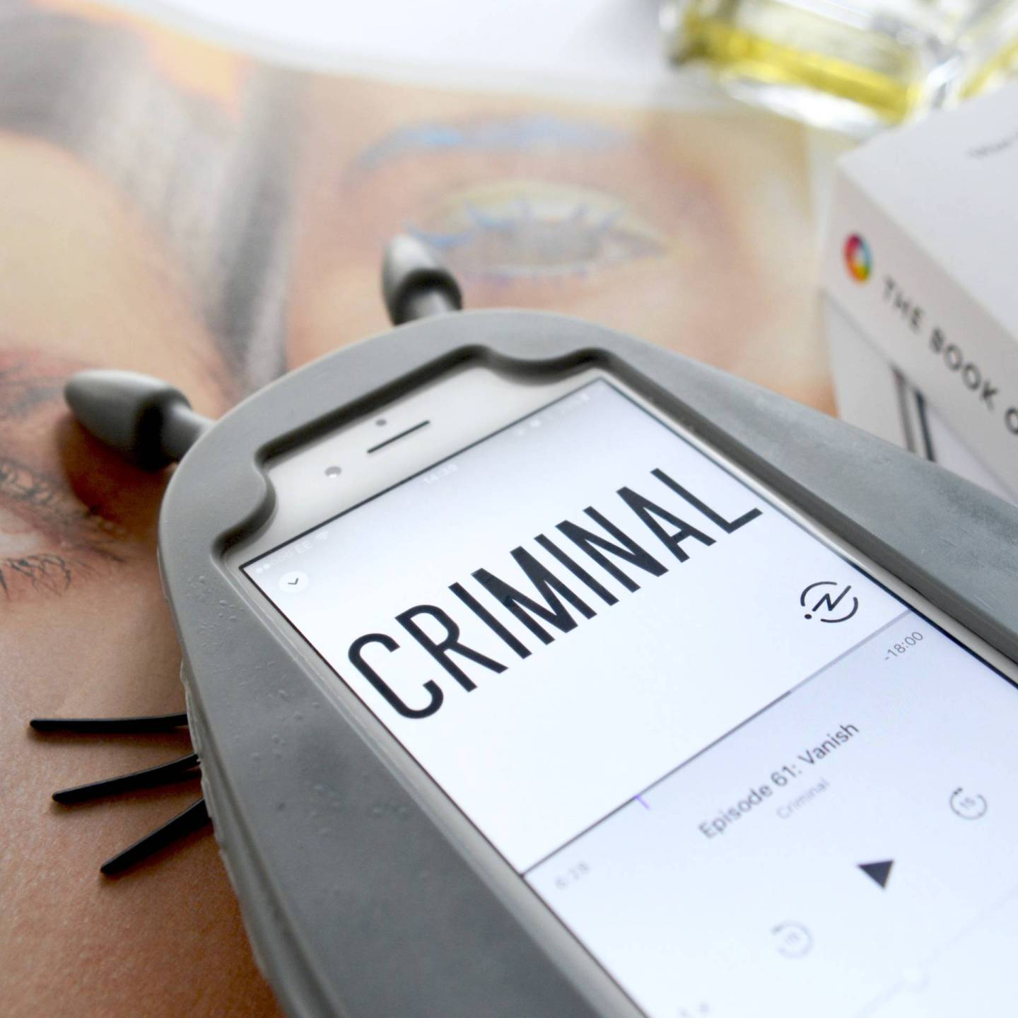 Friday Faves: if you love crime and you love podcasts, Criminal podcast will be right up your street.