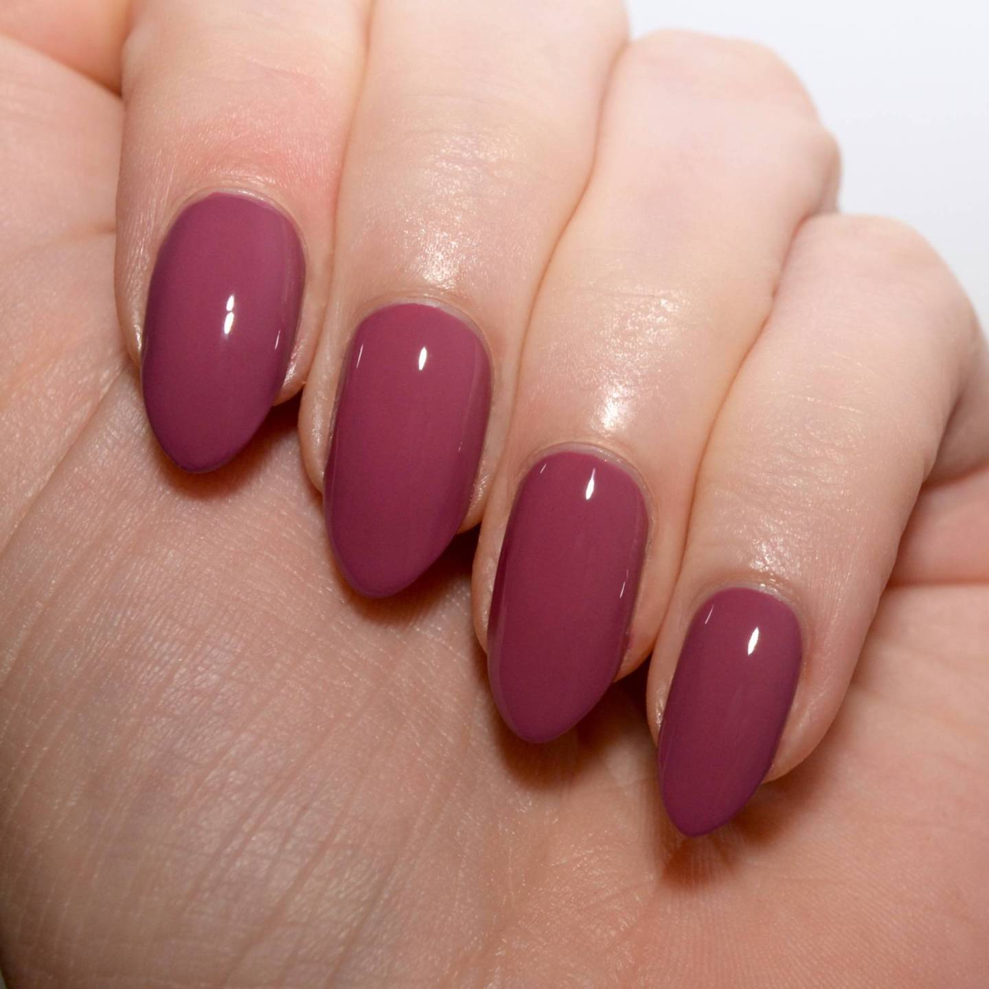Morgan Taylor 'Figure 8s and Heartbreaks' - a beautiful muted wine coloured nail polish.