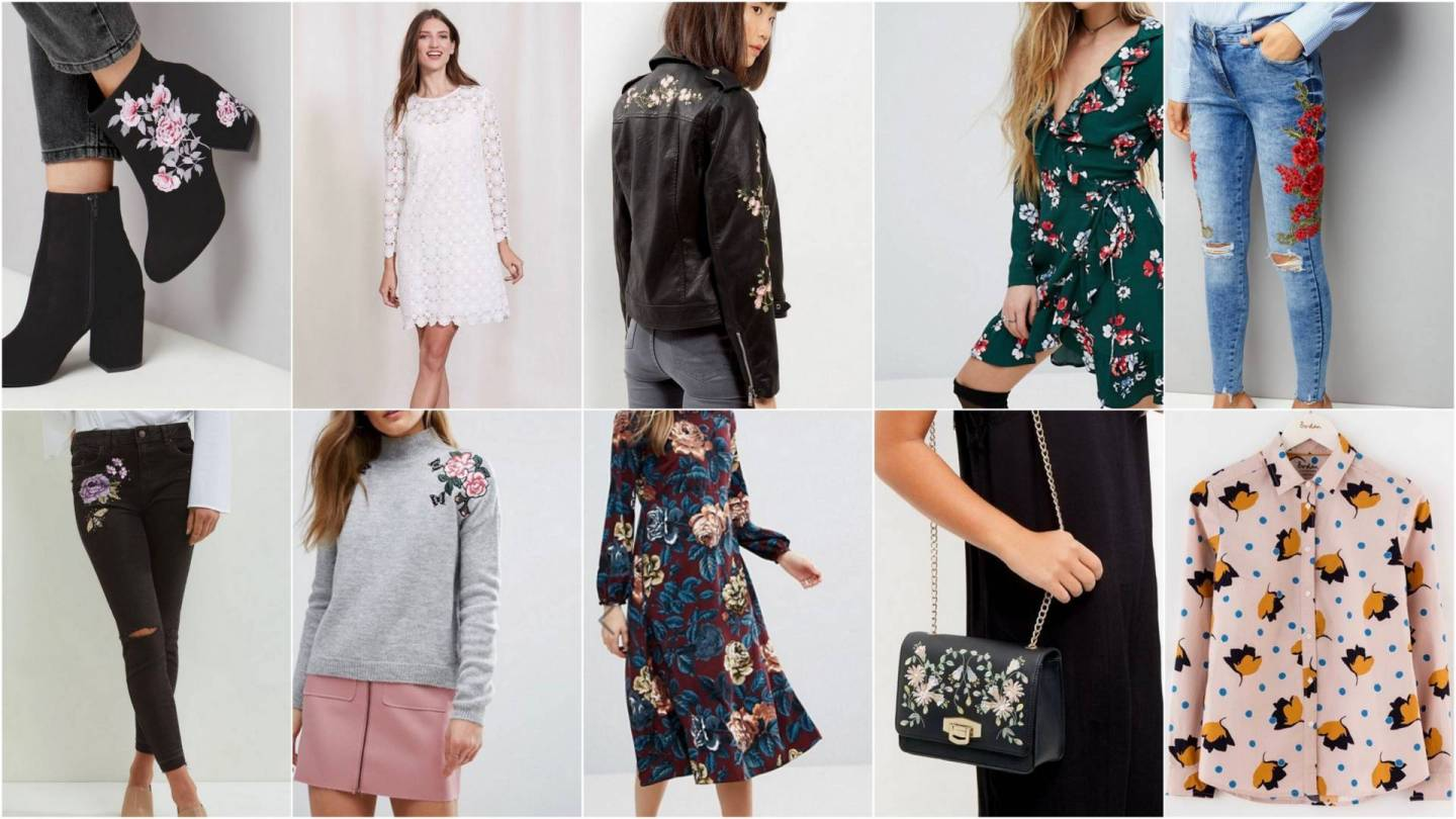 Florals For Spring - all the fashion items I'm coveting at the moment