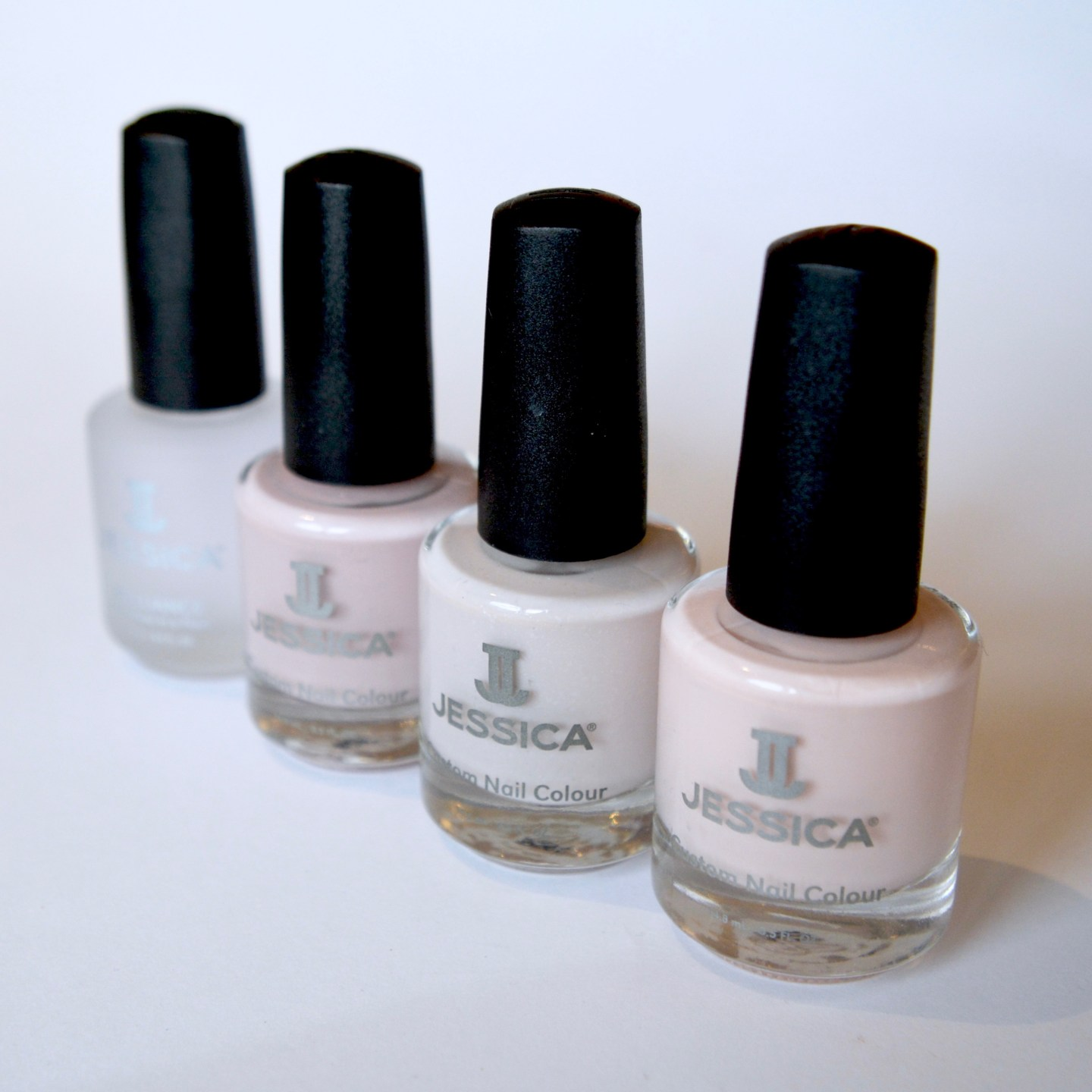 Jessica Silhouette Collection: 'Bare It All', 'Exposed', 'Tease', and Brilliance Top Coat