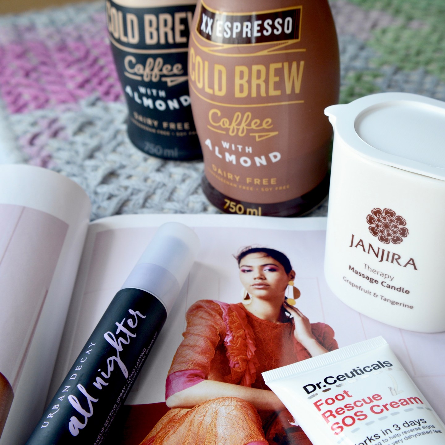Friday Faves: dairy-free cold brew coffee, Urban Decay newness, a foot saviour and a great new podcast!