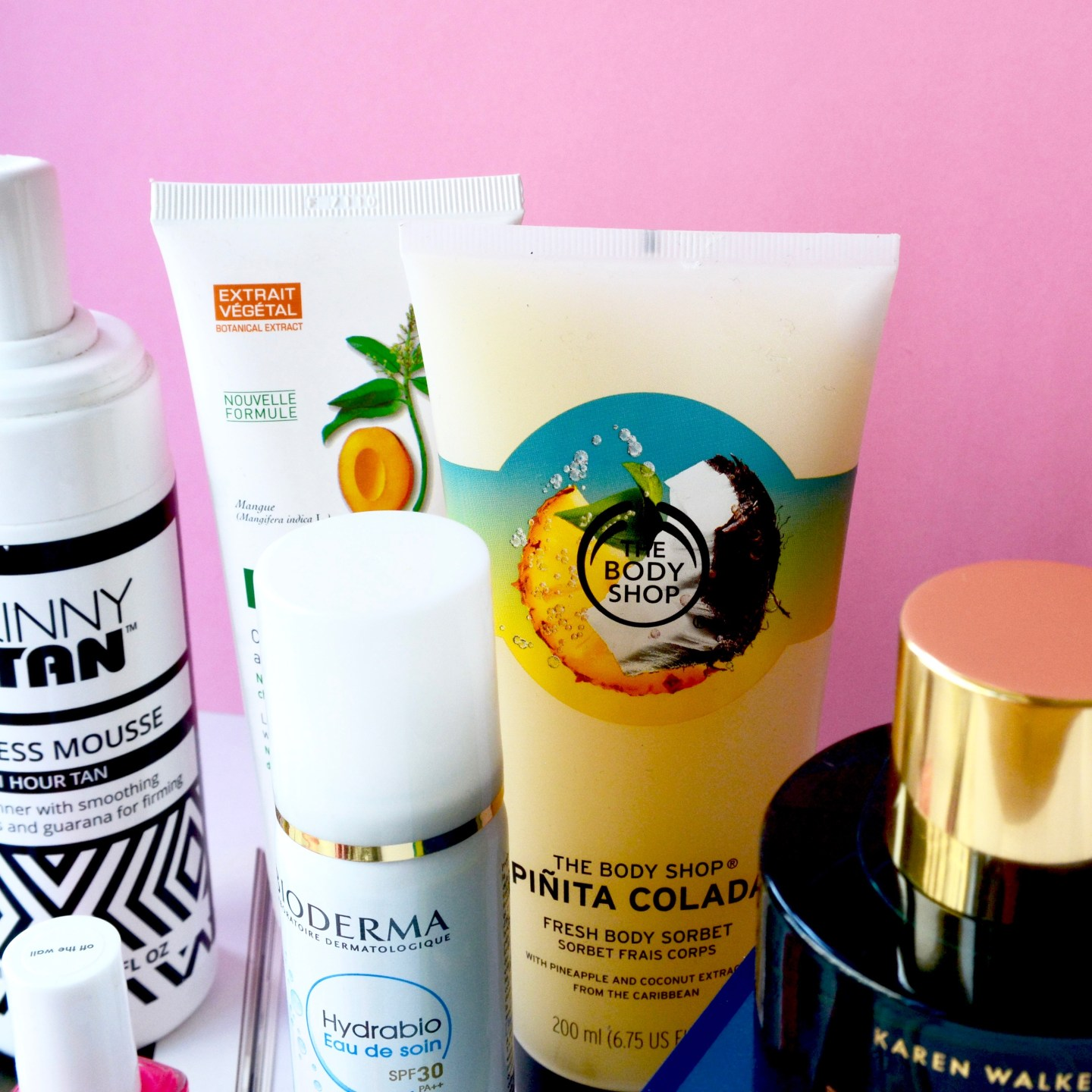 The Body Shop Pinita Colada body lotion (My Own Kind Of Summer Ready - The products that help me to feel more confident in the summer)