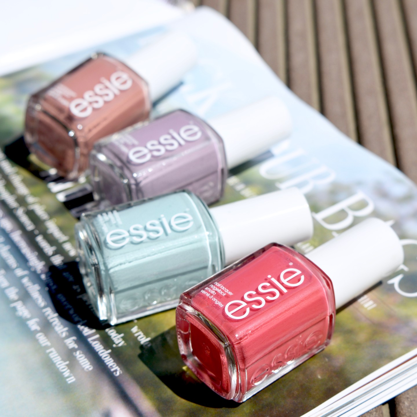 Essie Resort 2017 swatches