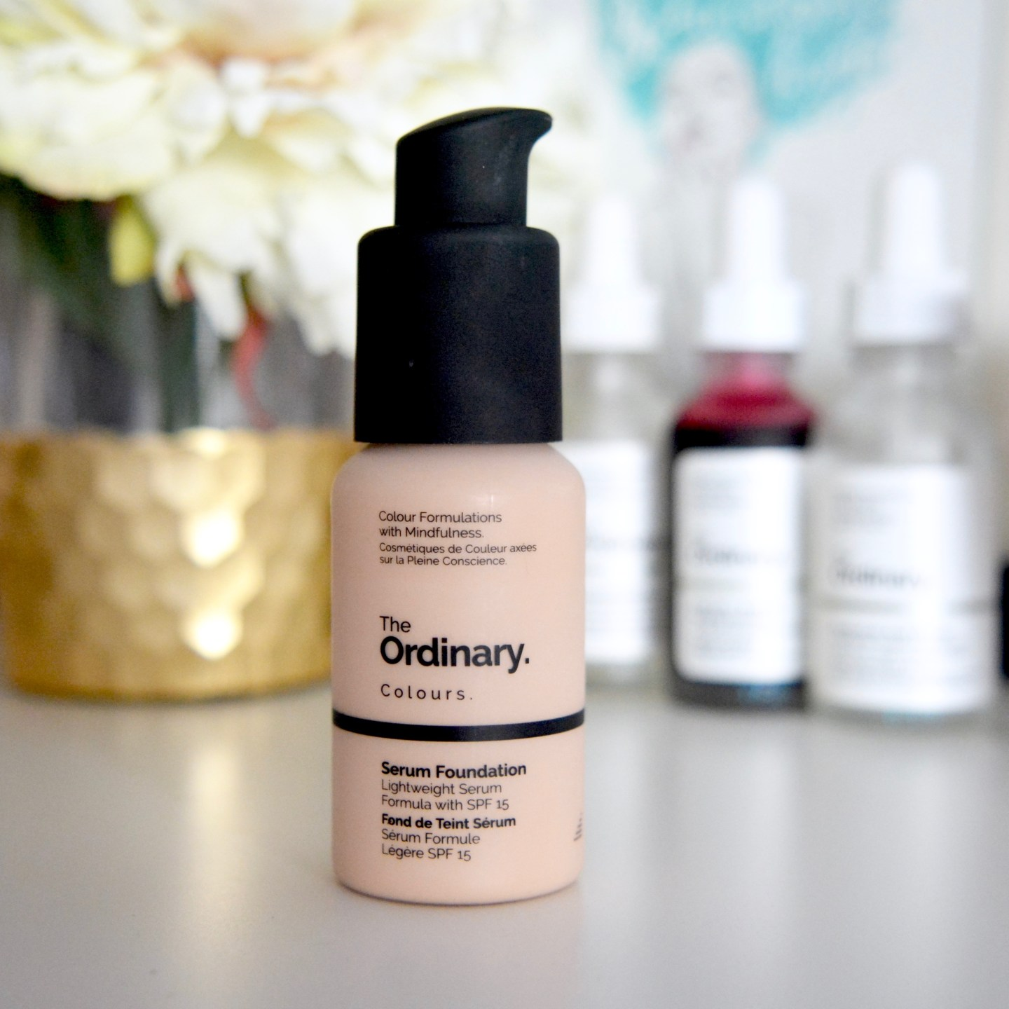 #RosaceaReview: The Ordinary Serum Foundation