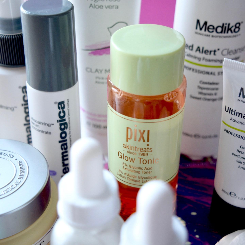 Skincare Shake Up October 2017 - Pixi Glow Tonic (full skincare routine for sensitive/rosacea skin)