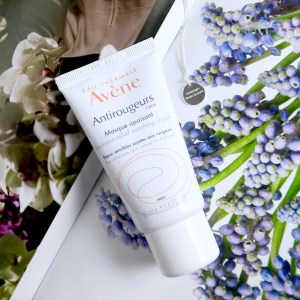 My rosacea story: Avène Anti-Rougeurs cleanser and face mask - skincare for rosacea and sensitive skin.