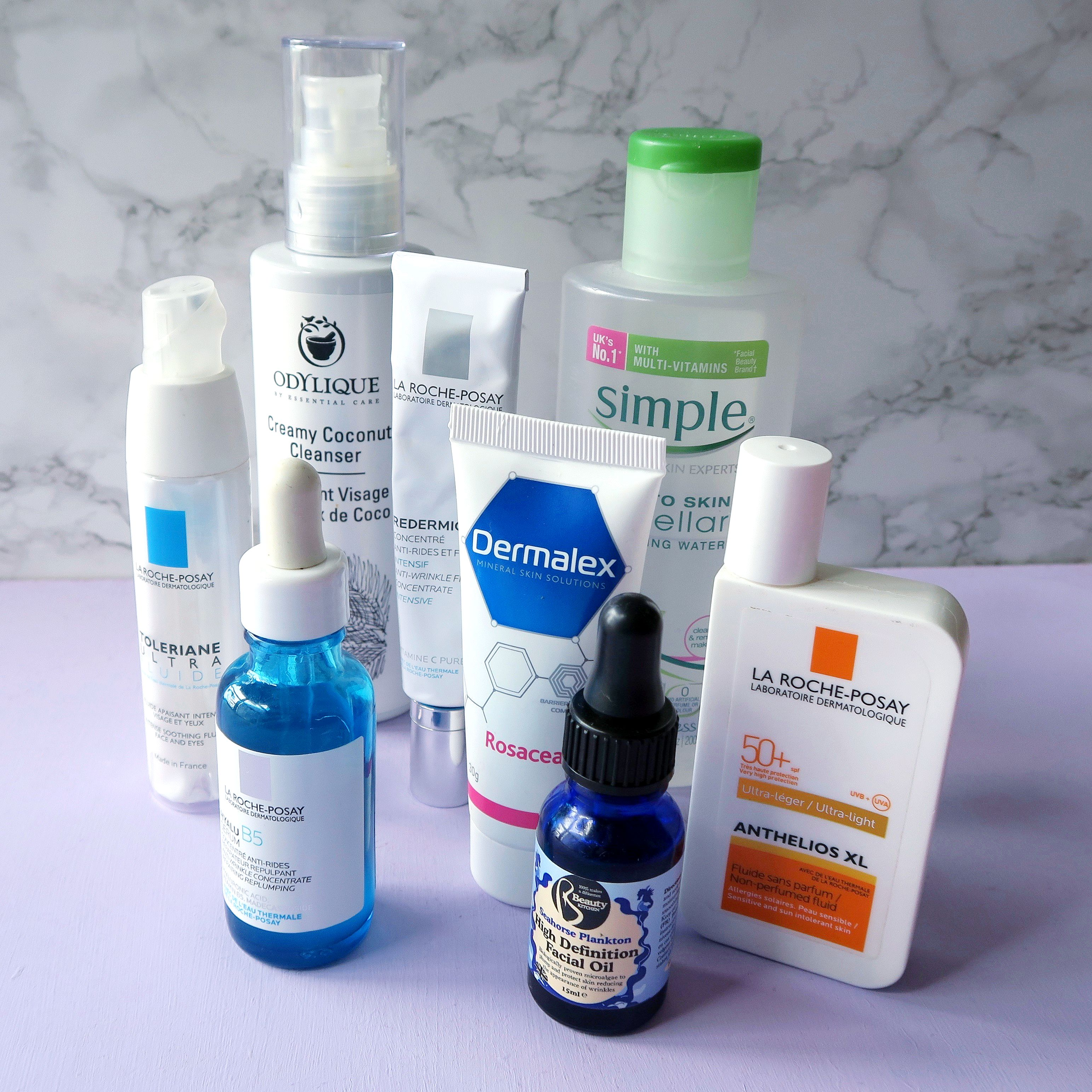 Skincare routine for sensitive skin, rosacea prone skin. More skincare advice and skincare tips on the blog.