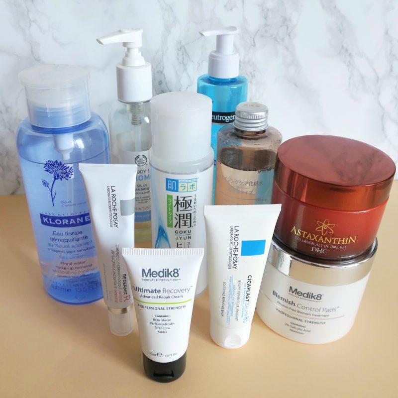 Skincare routine for sensitive skin, skincare for rosacea. Talonted Lex skincare shake up.