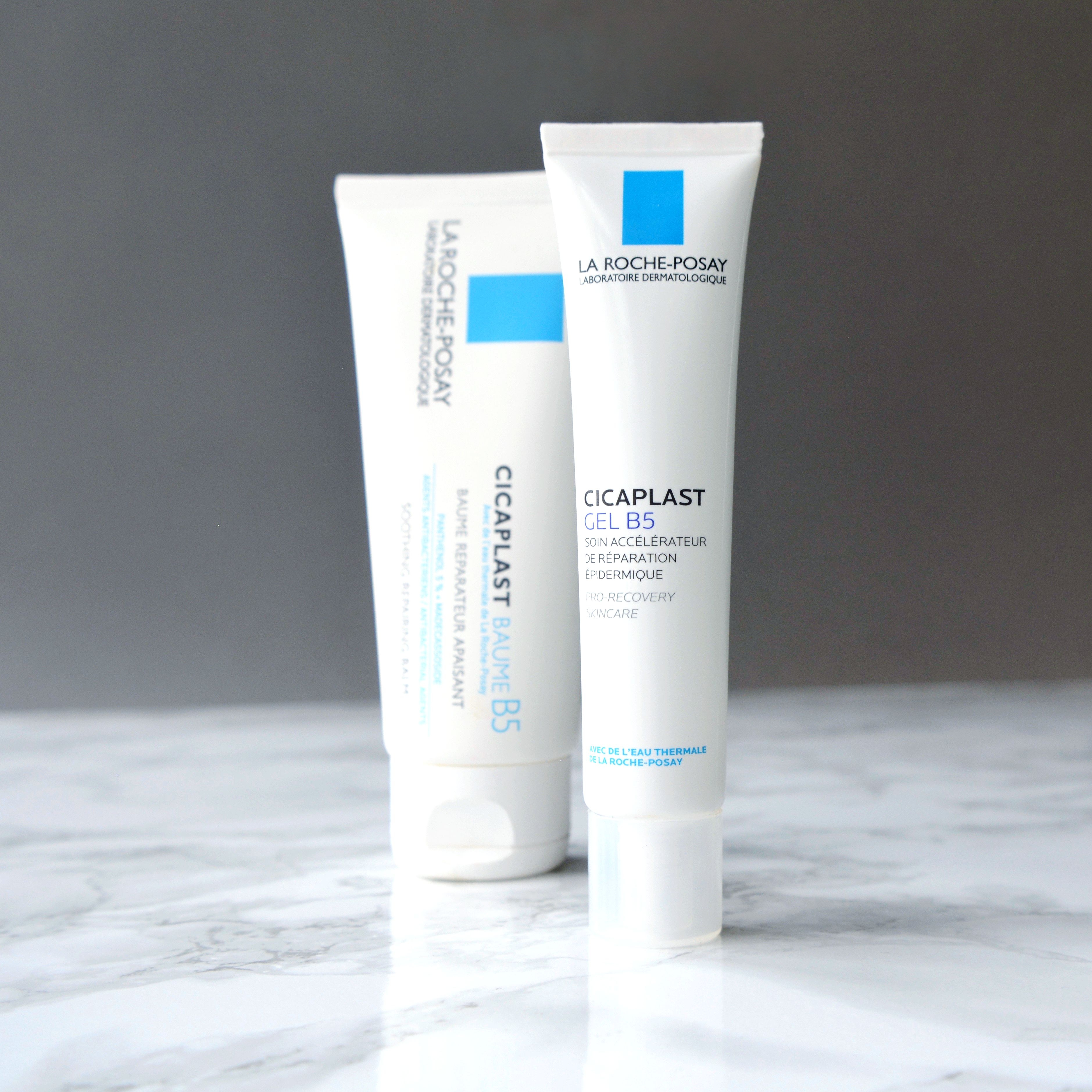 How to sooth dry itchy skin: La Roche-Posay Cicaplast range. These products are great on my sensitive rosacea skin, but can also be used on nappy rash, sunburn, scrapes, post-peel or post-surgery skin! Read more about these cult beauty products on the blog. #talontedlex #larocheposay #cicaplast #rosacea #dryskin