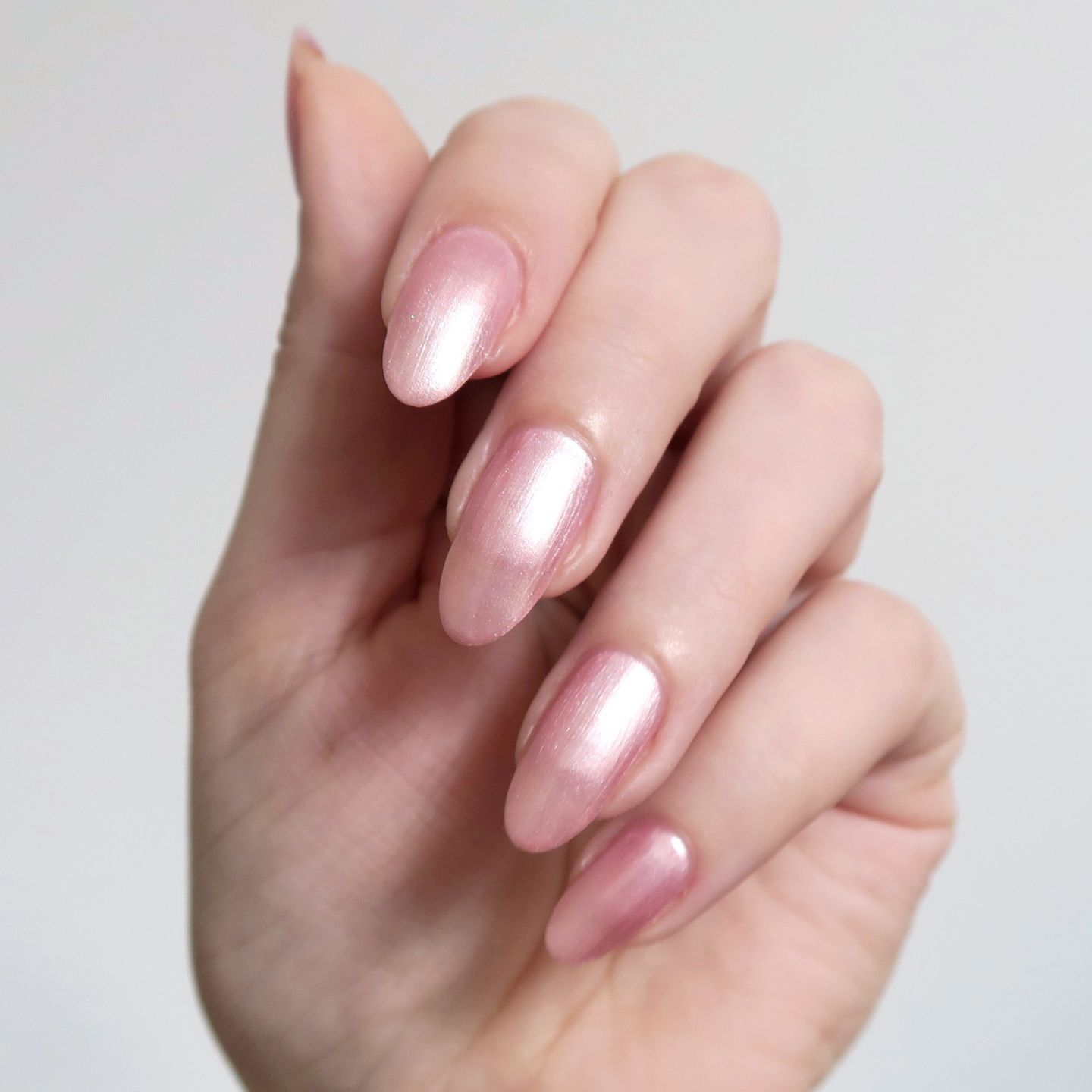 Repin and click to see my review of the new Morgan Taylor Color Of Petals collection. Morgan Taylor 'Follow The Petals' - pearl pink nail polish inspiration. Spring manicure inspiration. #talontedlex
