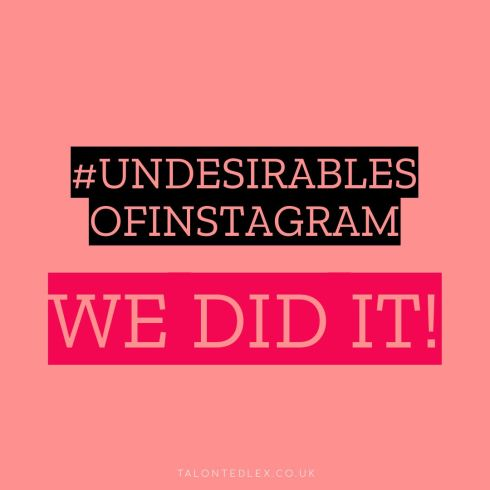 We got Instagram to change their guidelines!! Our recent #undesirablesofinstagram campaign was seen by instagram/facebook and it worked! The skin positivity community is amazing. Read more about the campaign by clicking the image. #talontedlex #rosacea #skinpositivity