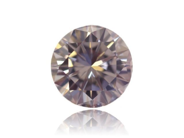 0.79ct Natural Loose Fancy Champagne Diamond Round SI2 Great Luster