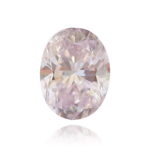 Pink Diamond 0.19ct Natural Loose Fancy Light Pink Color Diamond GIA VVS2 Oval
