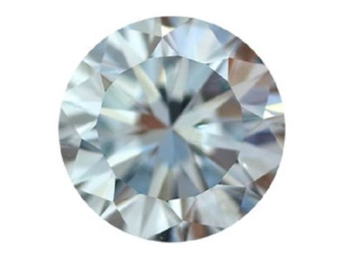 Blue Diamond - 0.13ct Natural Loose Fancy Gray Blue Round GIA Certified VS1
