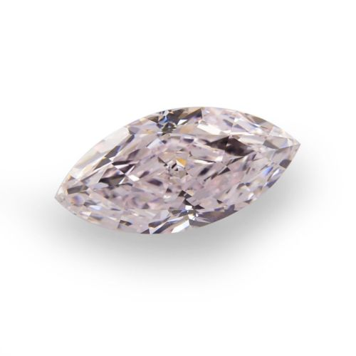 0.38ct Pink Diamond - Natural Loose Fancy Light Pink GIA Certified Marquise SI1