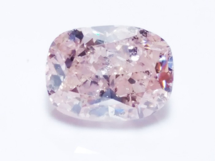 1.00ct Pink Diamond - Natural Loose Fancy Pink Color GIA Cushion SI2 Very Rare
