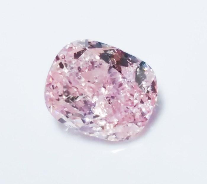 Pink Diamond - 0.71ct Natural Loose Fancy Purple Pink Color Diamond GIA SI2
