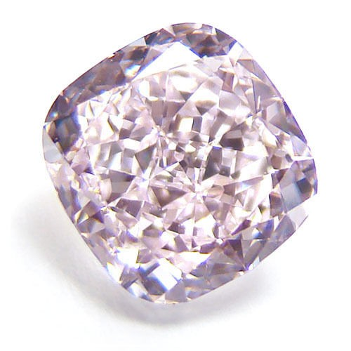 0.53ct Pink Diamond - Natural Loose Fancy Purplish Pink Color GIA Certified SI2
